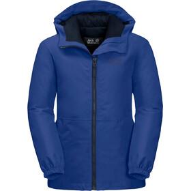 Jack Wolfskin Argon Storm Jacket Kids, blauw